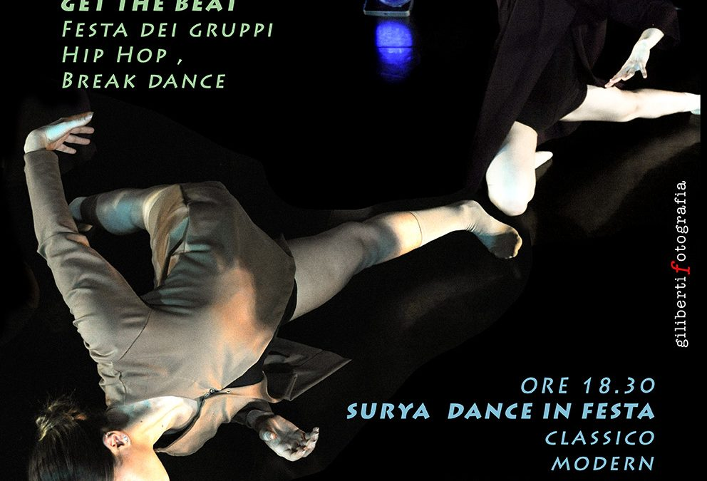 27/1 FESTA SURYA DANCE E GET THE BEAT